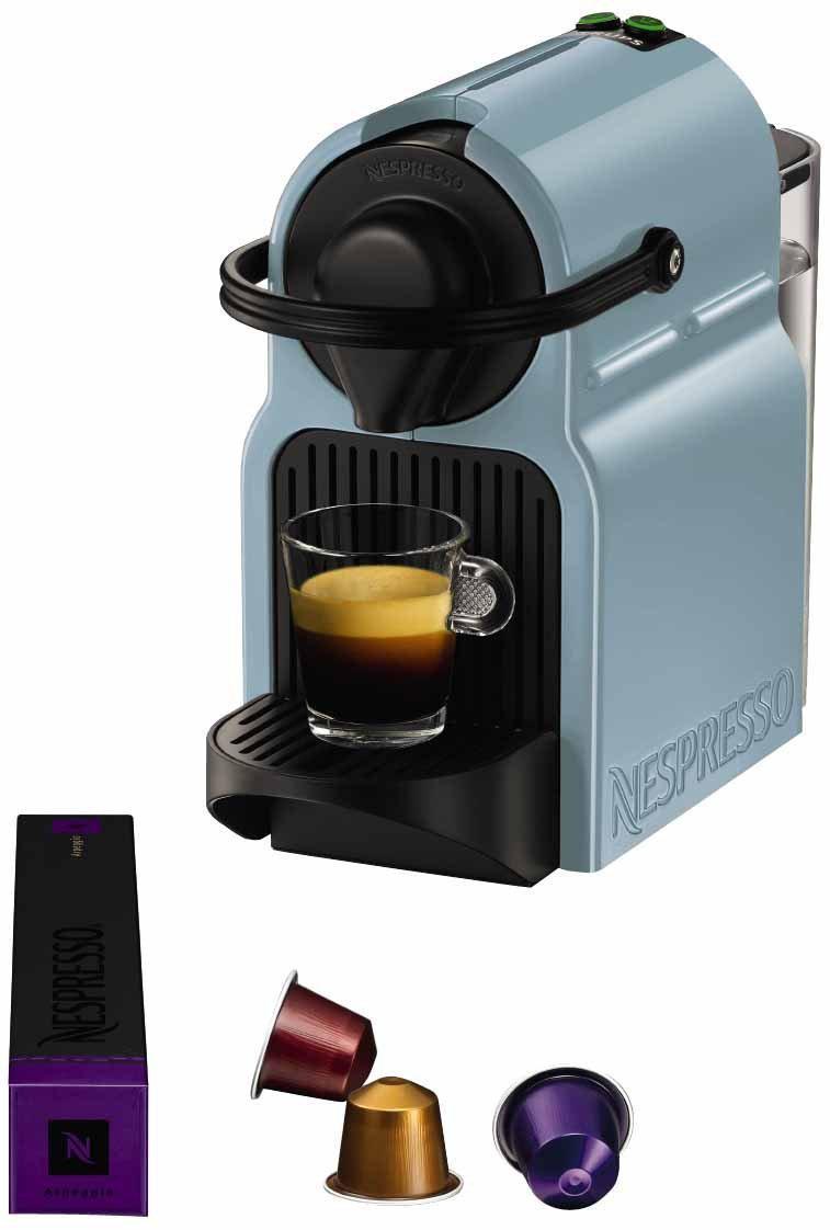 Krups YY1532FD Nespresso Inissia Machine à Espresso 19 Bars Bleue ...