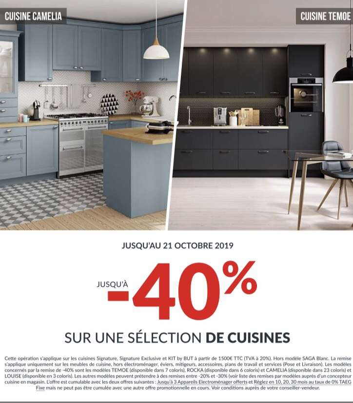 40 De Reduction Sur Une Selection De Cuisines Ex Louise 3