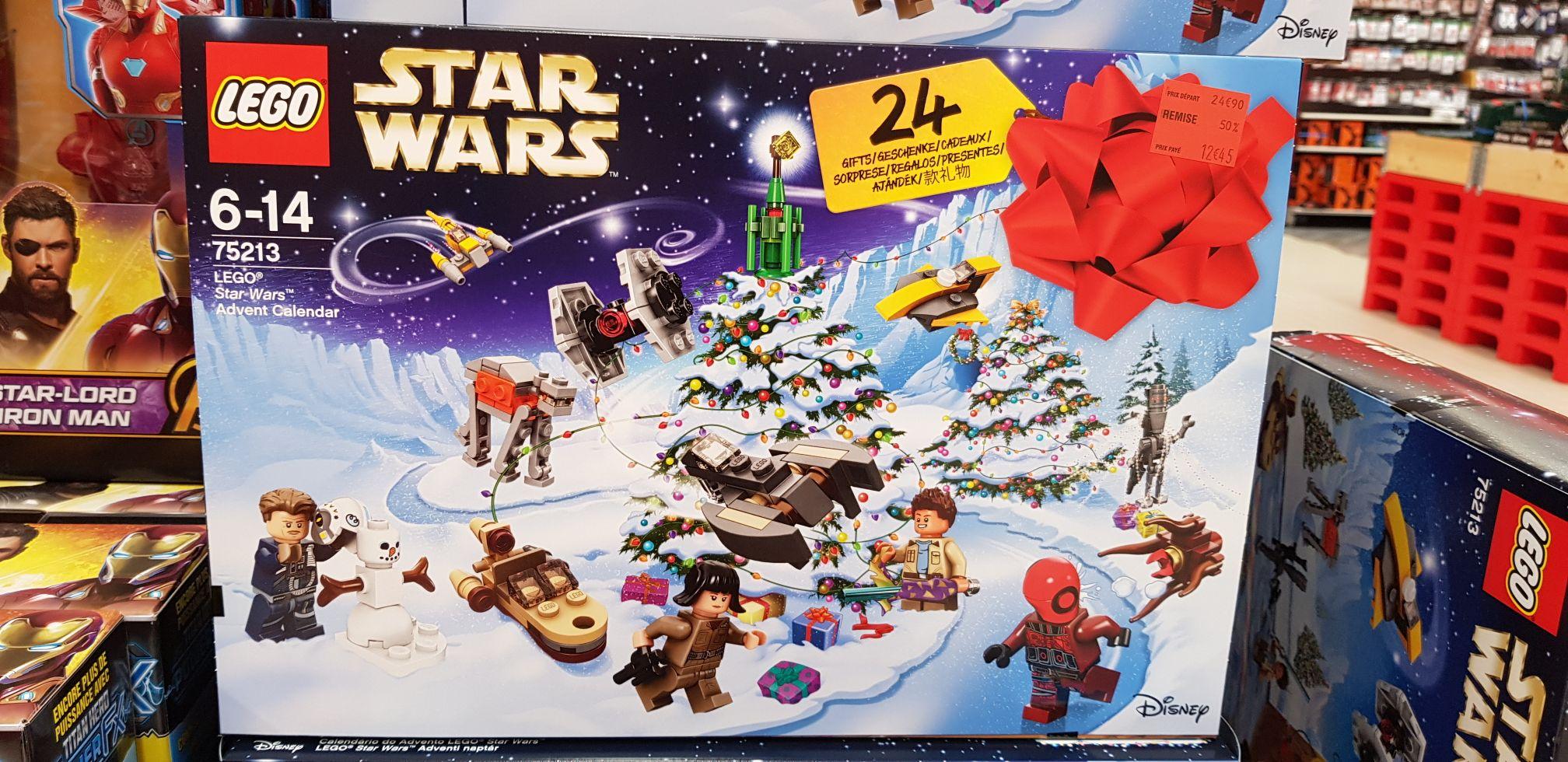 Calendrier De L Avent Lego Star Wars Carrefour.Calendrier De L Avent Lego Star Wars 75213 Beaujoire 44