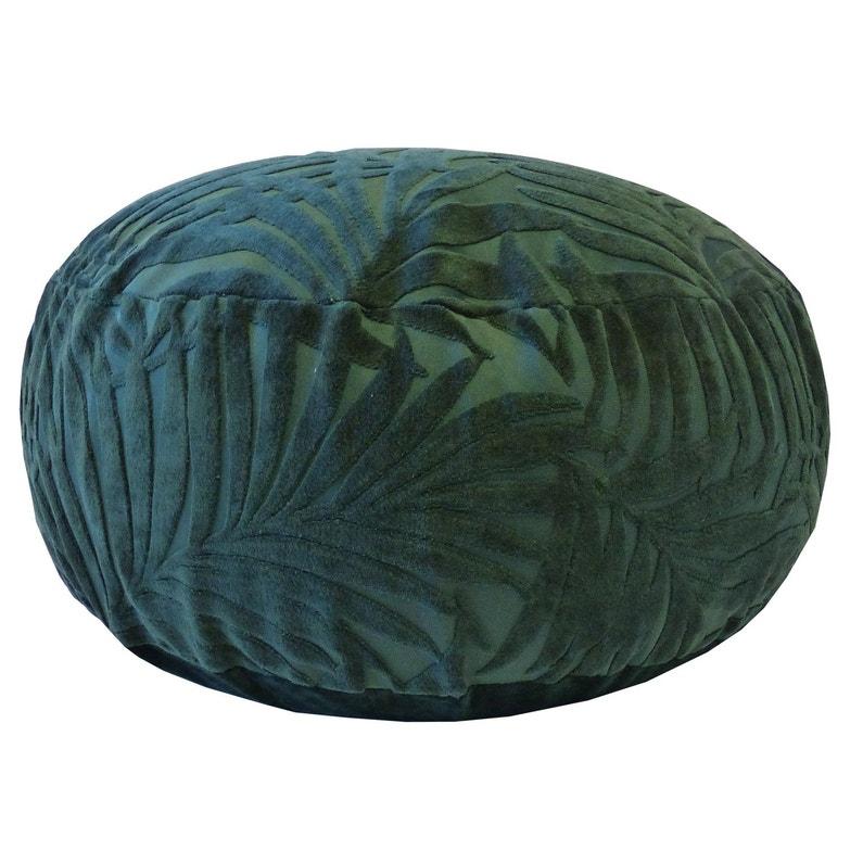 Pouf Dintérieur De Sol Vert Foncé Balou 20 X 50 Cm
