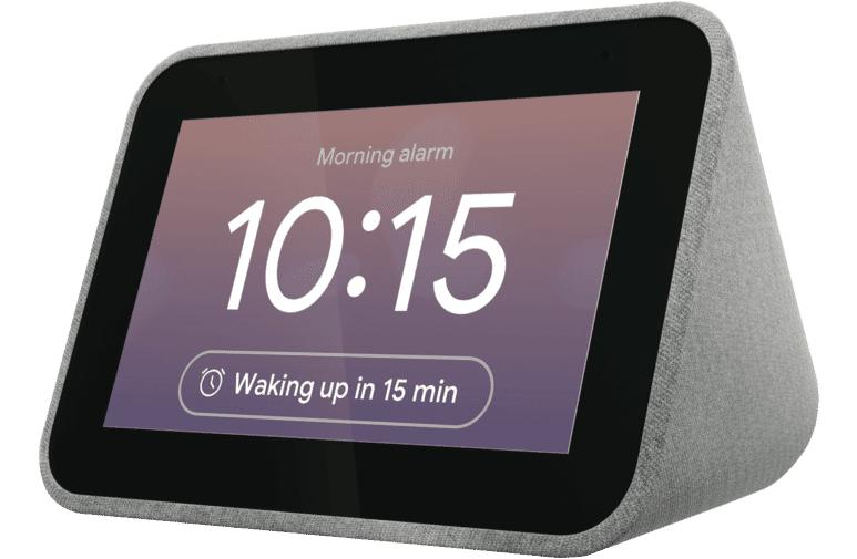 Réveil Connecté Assistant Vocal Lenovo Smart Clock 7 50