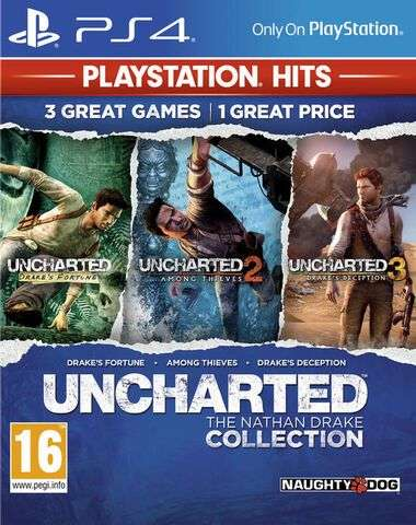 Jeu Uncharted The Nathan Drake Collection Hits sur PS4