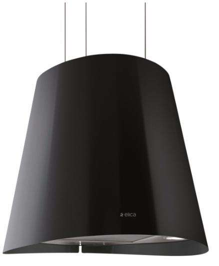 hotte d corative lot elica juno noire. Black Bedroom Furniture Sets. Home Design Ideas