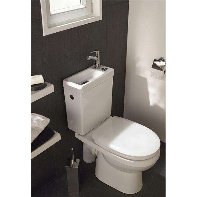wc 2 en 1 duetto 2 lave main toilette. Black Bedroom Furniture Sets. Home Design Ideas