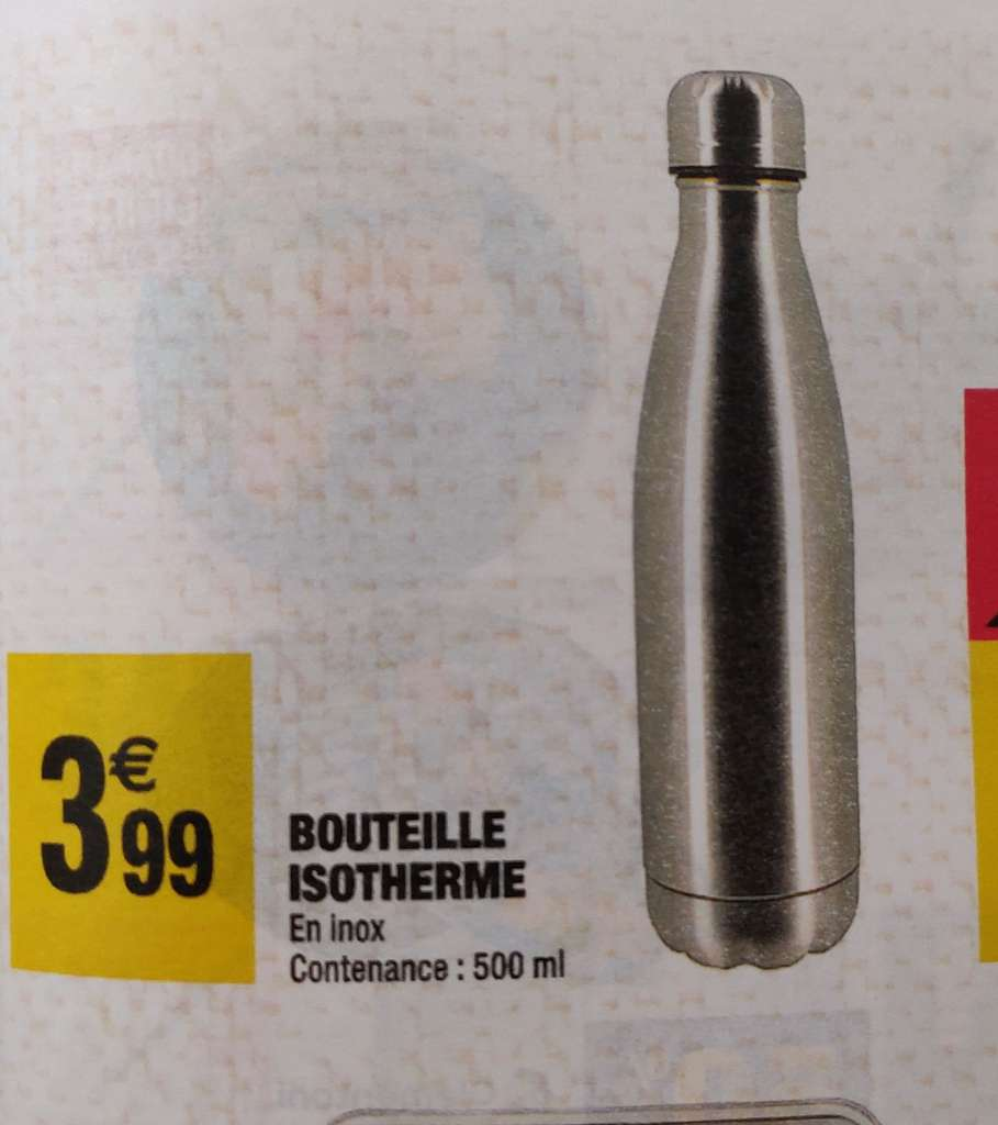 Belle Bouteille isotherme - 500ml – Dealabs.com JF-59