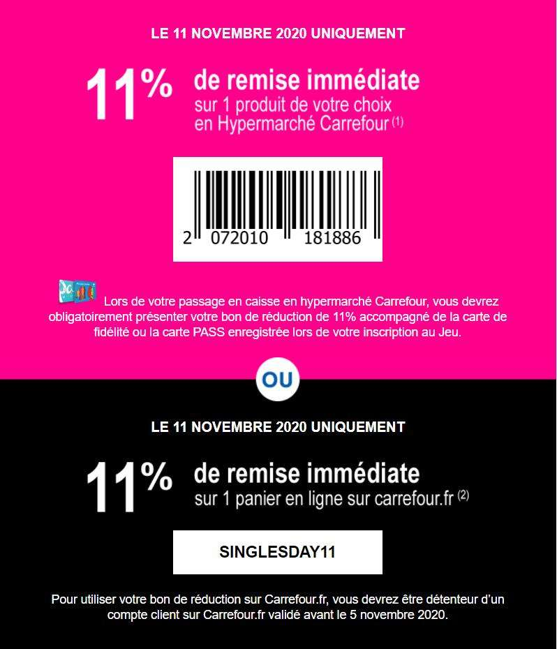 Carrefour Catalogue, réduction et code promo Novembre 2020