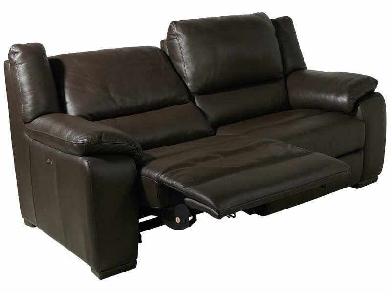 canap 3 places saturday cuir electrique. Black Bedroom Furniture Sets. Home Design Ideas
