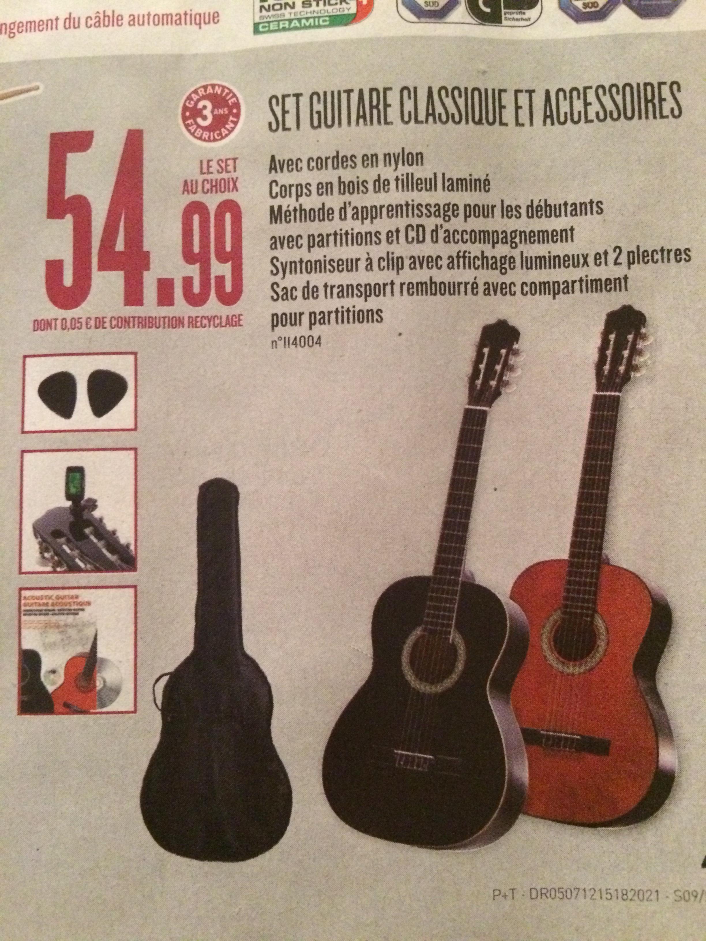 guitare classique lidl avis