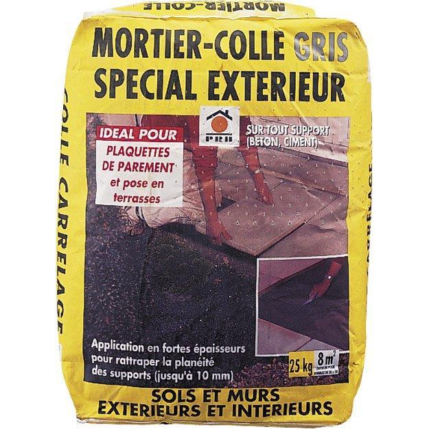 mortier colle ext 233 rieur gris prb 25 kg dealabs