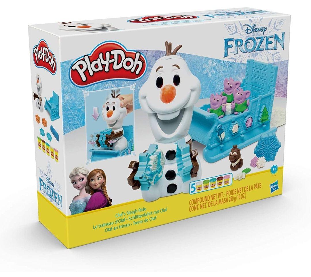 Coffret Pate à Modeler Play-Doh - Disney La Reine des Neiges Le traineau D'olaf - Dealabs.com