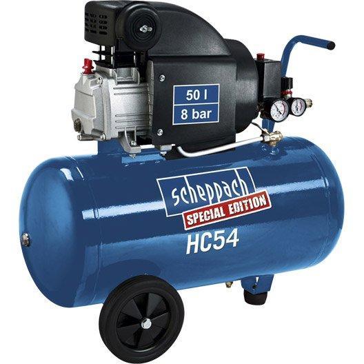Compresseur Scheppach Hc54 Special Edition 50l 2cv
