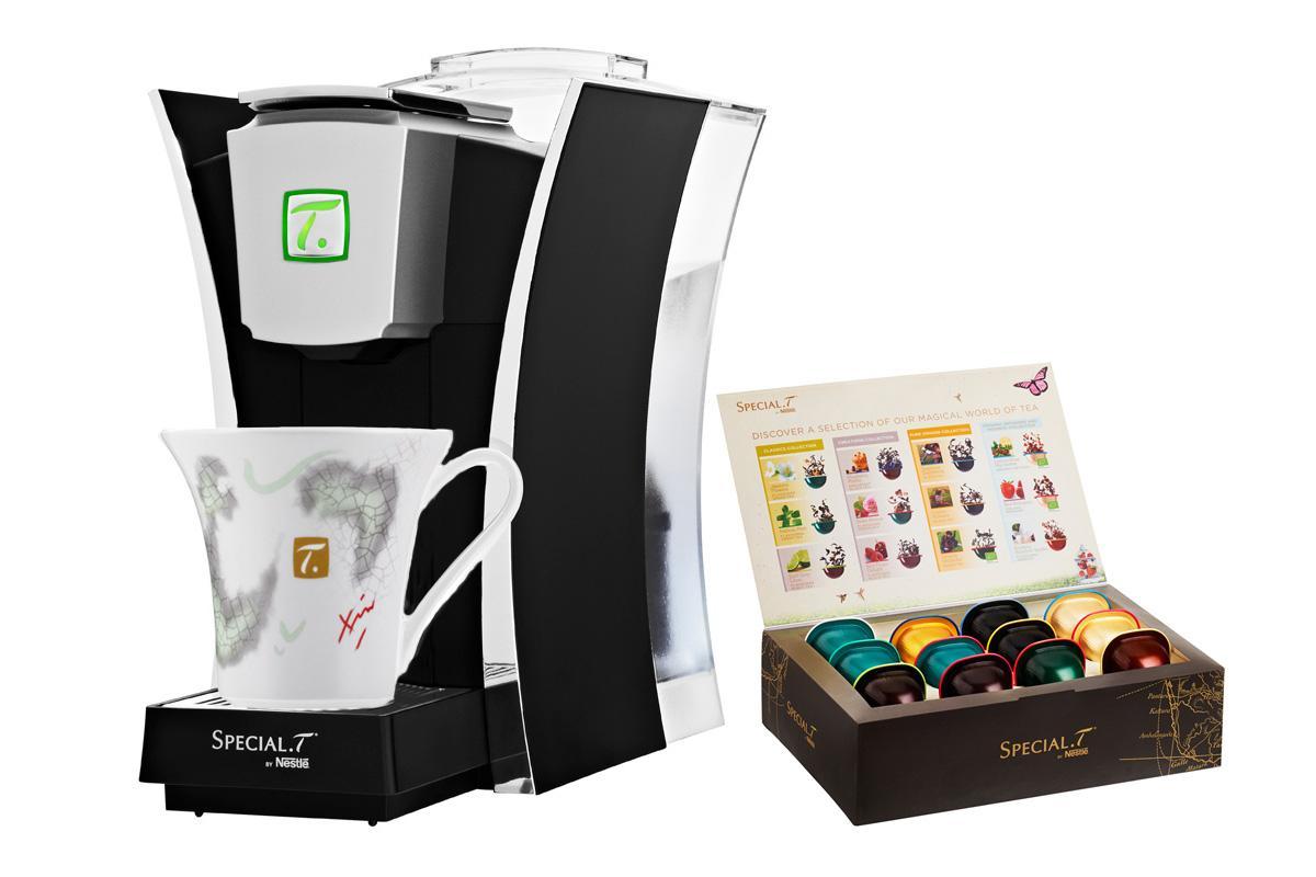 Machine sp cial t classik t coffret 12 capsules et tasse - Machine a the special t ...