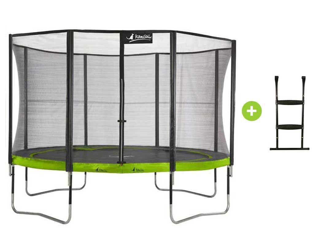 Trampoline alice garden cdiscount free trampolines with for Garden discount chelles