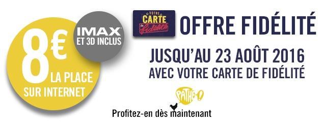 Carte fid lit place de cin ma imax 3d - Carte fidelite gaumont ...