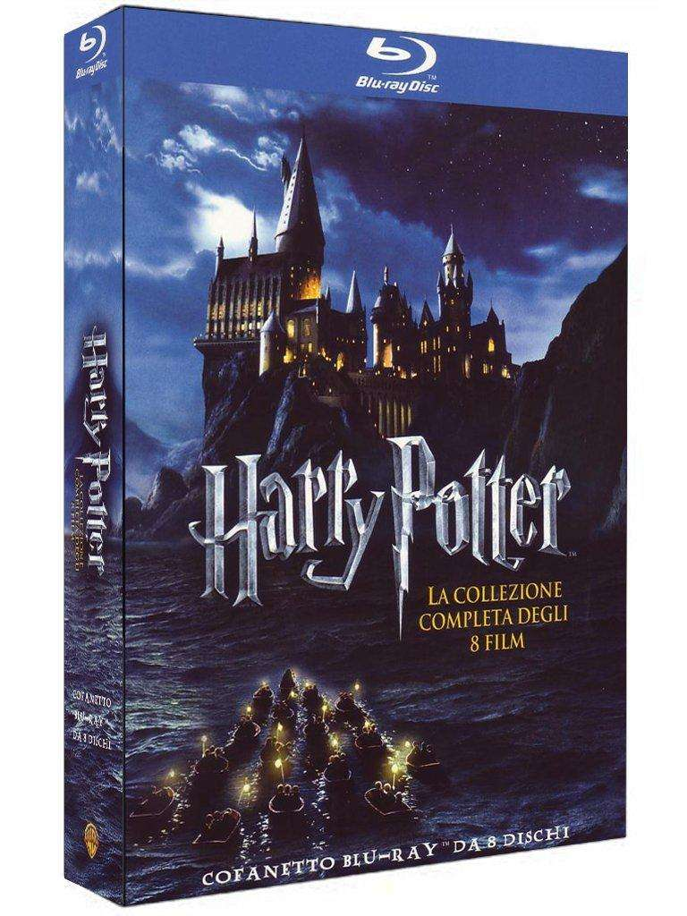 coffret blu ray harry potter collection compl te import italien. Black Bedroom Furniture Sets. Home Design Ideas