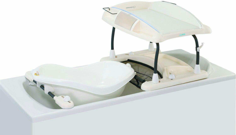 Duo baignoire table langer b b confort amplitude - Table a langer qui se pose sur la baignoire ...