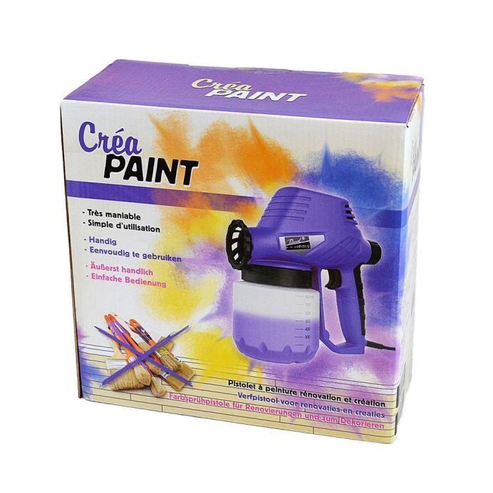 Pistolet peinture cr a paint for Petit pistolet a peinture