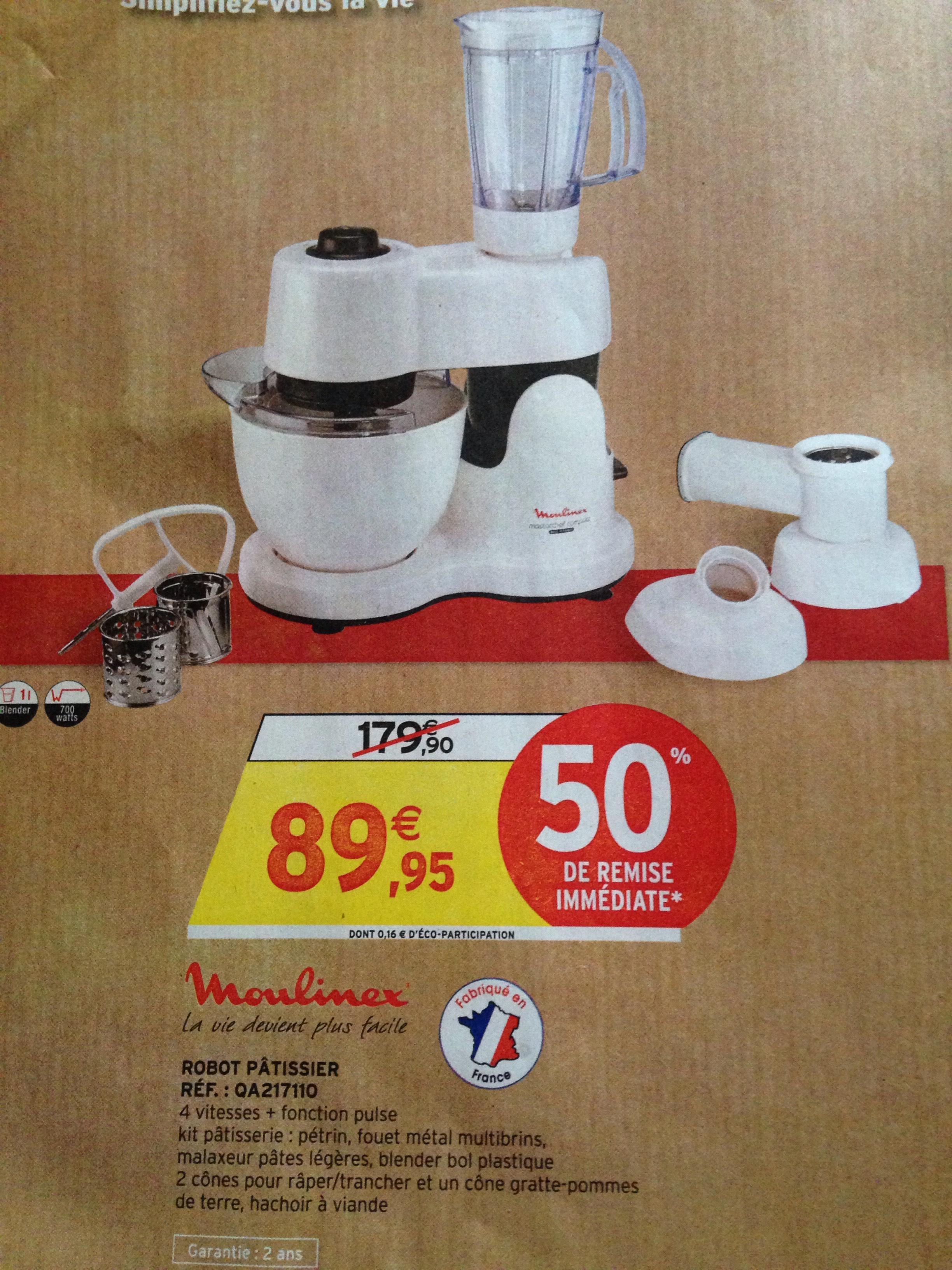 robot p tissier moulinex qa217110. Black Bedroom Furniture Sets. Home Design Ideas