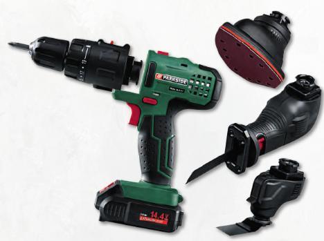 S lection d 39 outils parkside powerfix en promotion ex outil multifonction sans fil parkside - Outil multifonction lidl ...