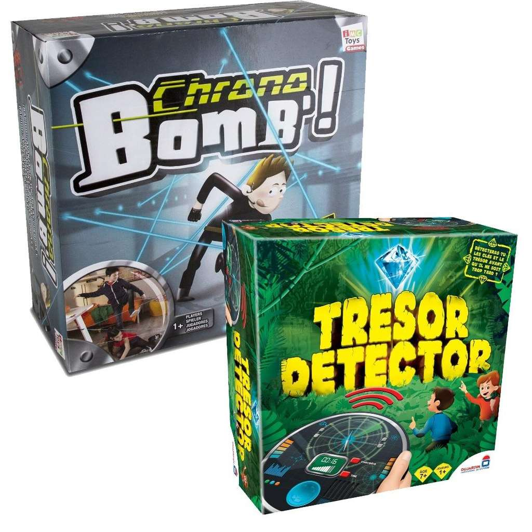 Lot de jeux soci t dujardin tf1 chrono bomb 39 tr sor for Dujardin tf1