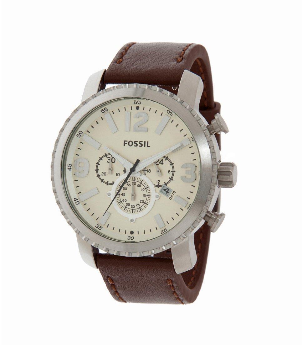 S lection de montres fossil en promotion ex montre aiguilles bq1177 champagne argent - Frais de port gratuit zalando prive ...