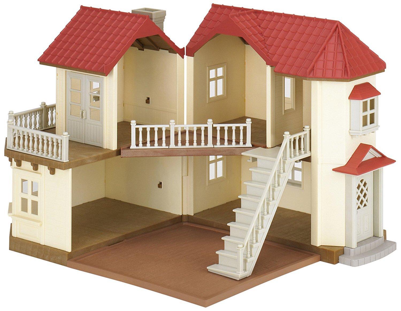 jouet maison de poup e sylvanian families. Black Bedroom Furniture Sets. Home Design Ideas