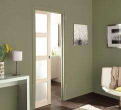 syst me coulissant galandage porte non fournie. Black Bedroom Furniture Sets. Home Design Ideas