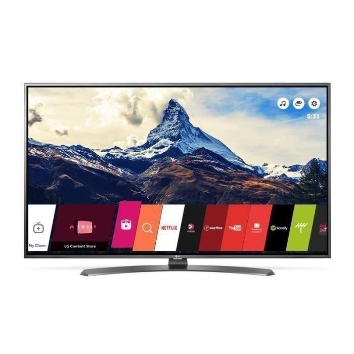 cdiscount volont tv led 55 lg 55uh661v 4k hdr smart tv web os 3 0 ultra surround. Black Bedroom Furniture Sets. Home Design Ideas
