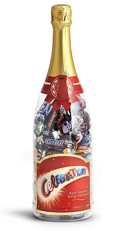 bouteille de chocolats c l brations 630g