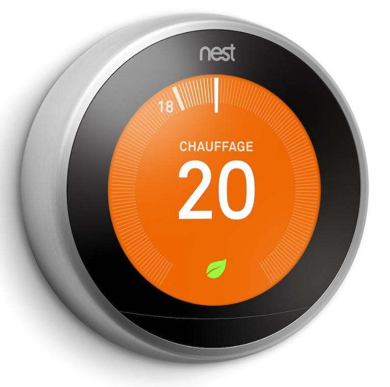 Thermostat nest learning troisi me g n ration - Baisser thermostat chauffe eau ...