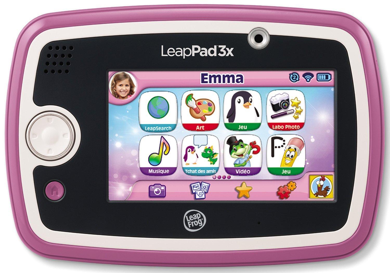 tablette tactile pour enfant leappad 3x rose ou verte. Black Bedroom Furniture Sets. Home Design Ideas
