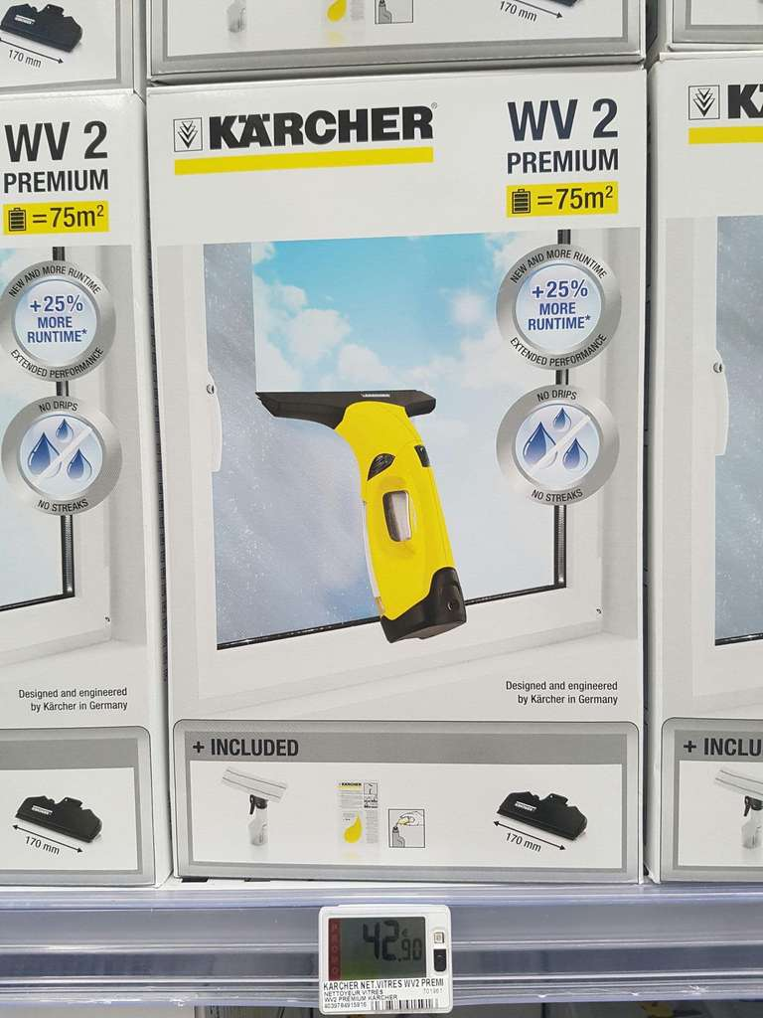 nettoyeur vitre karcher wv2 premium. Black Bedroom Furniture Sets. Home Design Ideas
