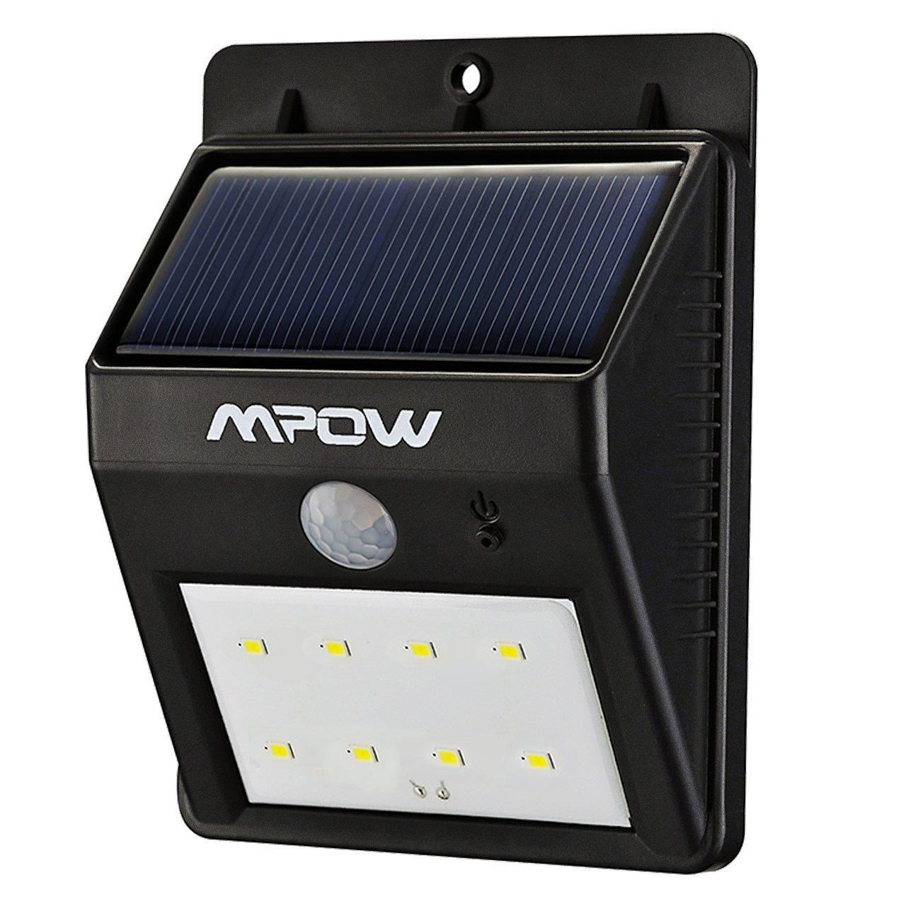 Eclairage ext rieur mpow imperm able avec d tecteur de mouvement 8 led - Detecteur de mouvement ne s eteint plus ...