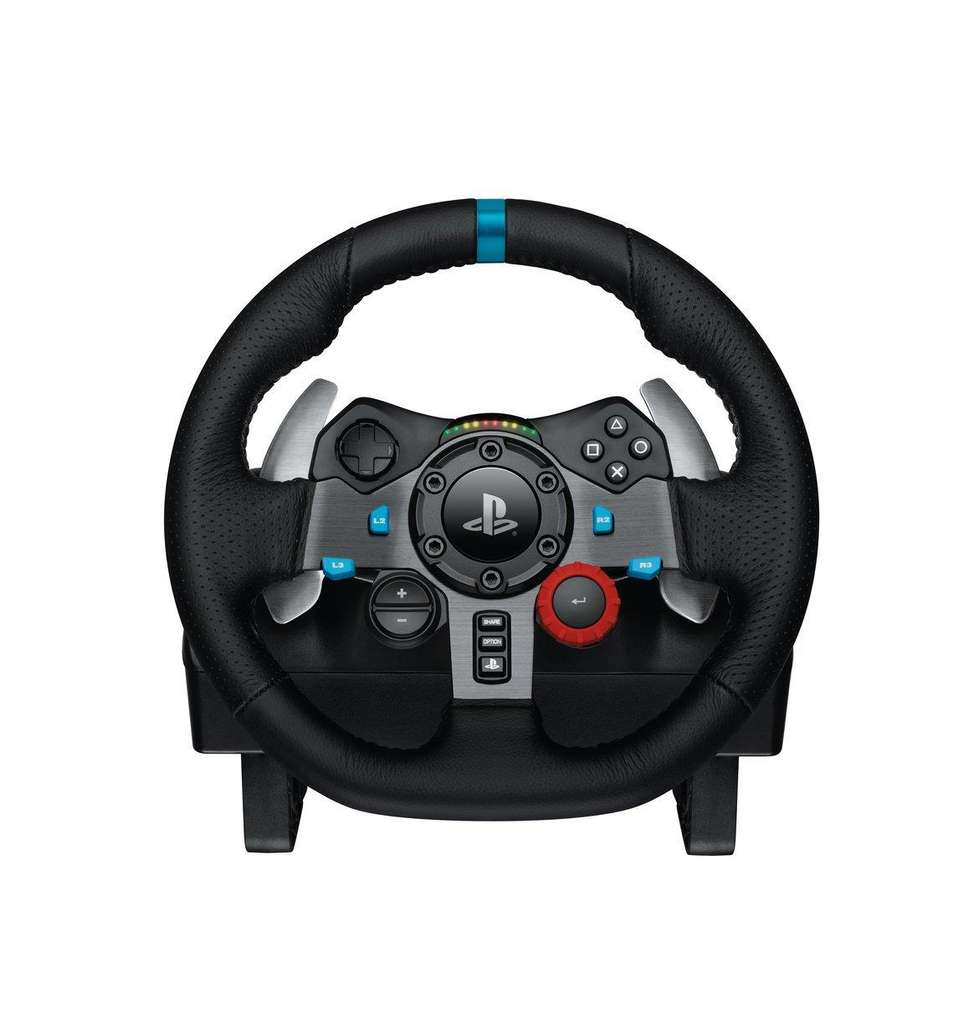 volant de course logitech g29 g920 pour ps4 xbox one pc p dalier. Black Bedroom Furniture Sets. Home Design Ideas