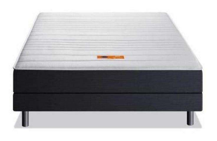 matelas dunlopillo dpack alix 140x190cm m moire de forme ferme 40 kg m3. Black Bedroom Furniture Sets. Home Design Ideas