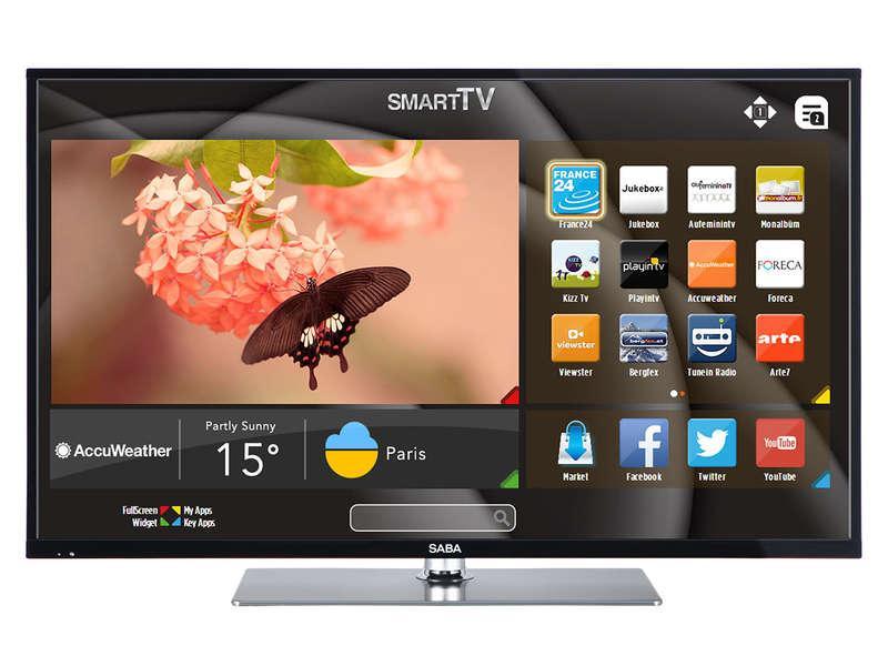 tv 40 saba ld40vs249 led full hd smart tv. Black Bedroom Furniture Sets. Home Design Ideas