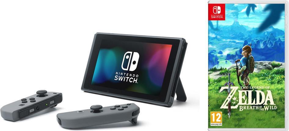 pack console nintendo switch zelda botw mario kart 8 deluxe ou 1 2 switch. Black Bedroom Furniture Sets. Home Design Ideas