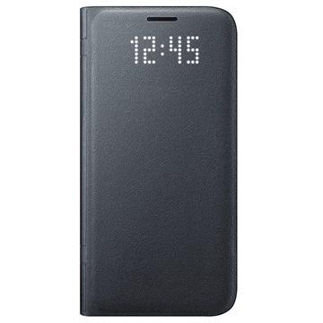 etui portefeuille samsung led view pour smartphone galaxy s7 s7 edge noir avec odr de 20. Black Bedroom Furniture Sets. Home Design Ideas