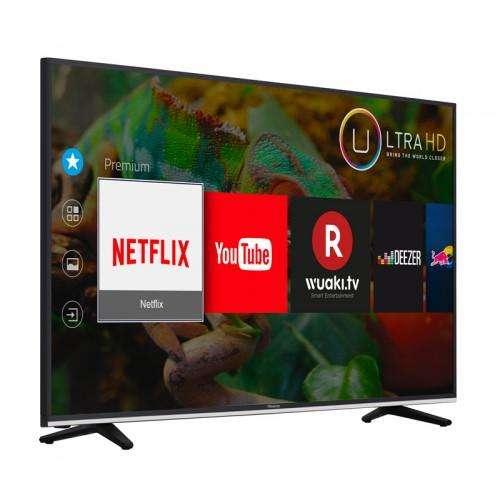 s lection de tv en promotion ex tv led 55 hisense h55mec3350 uhd 4k hdr smart tv via. Black Bedroom Furniture Sets. Home Design Ideas
