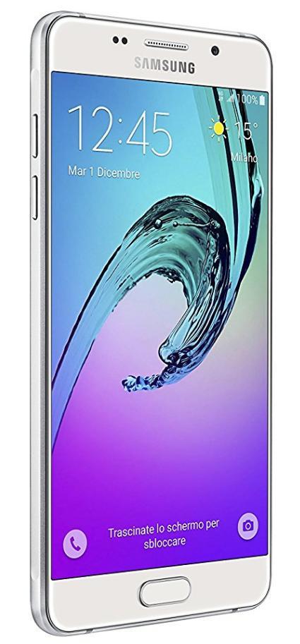 smartphone 5 2 samsung galaxy a5 2016 2 go ram 16 go blanc ou or. Black Bedroom Furniture Sets. Home Design Ideas