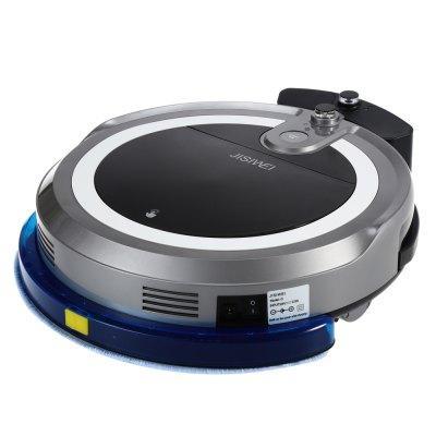 aspirateur robot jisiwei i3 gris t l commade application cam ra serpill re aspiration. Black Bedroom Furniture Sets. Home Design Ideas
