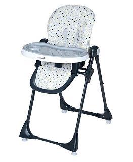 chaise haute multipositions pour b b safety 1st kiwi. Black Bedroom Furniture Sets. Home Design Ideas