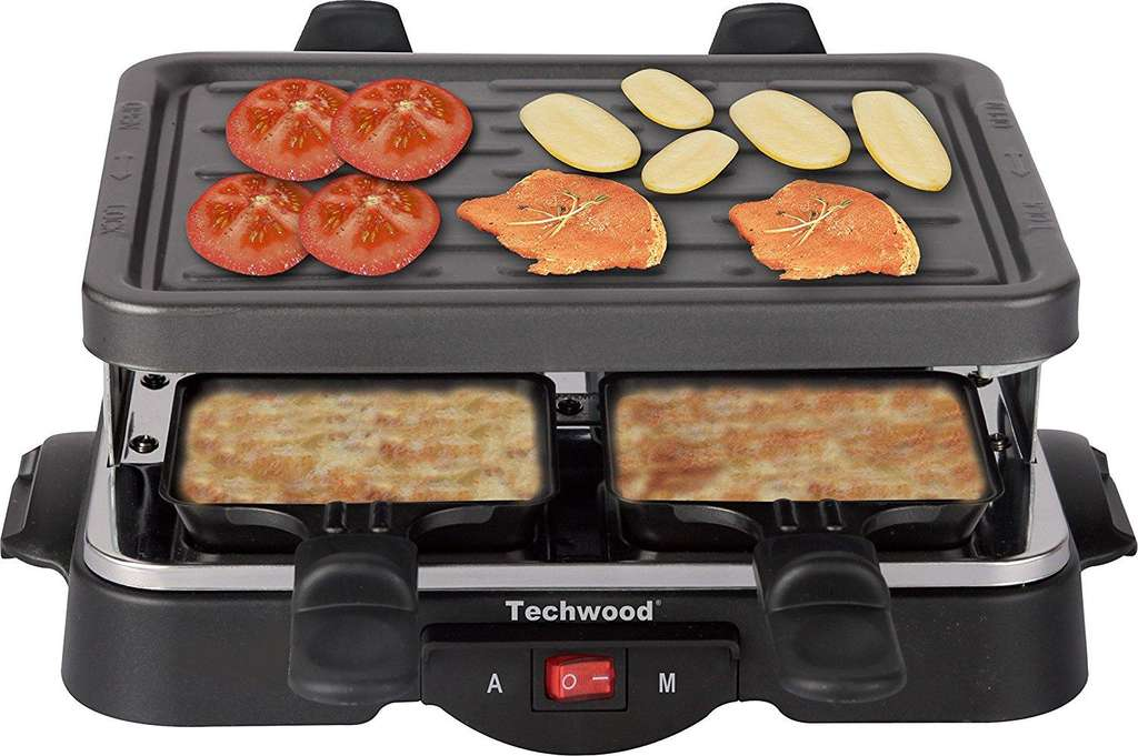 appareil raclette techwood tra 44 pour 4 personnes. Black Bedroom Furniture Sets. Home Design Ideas
