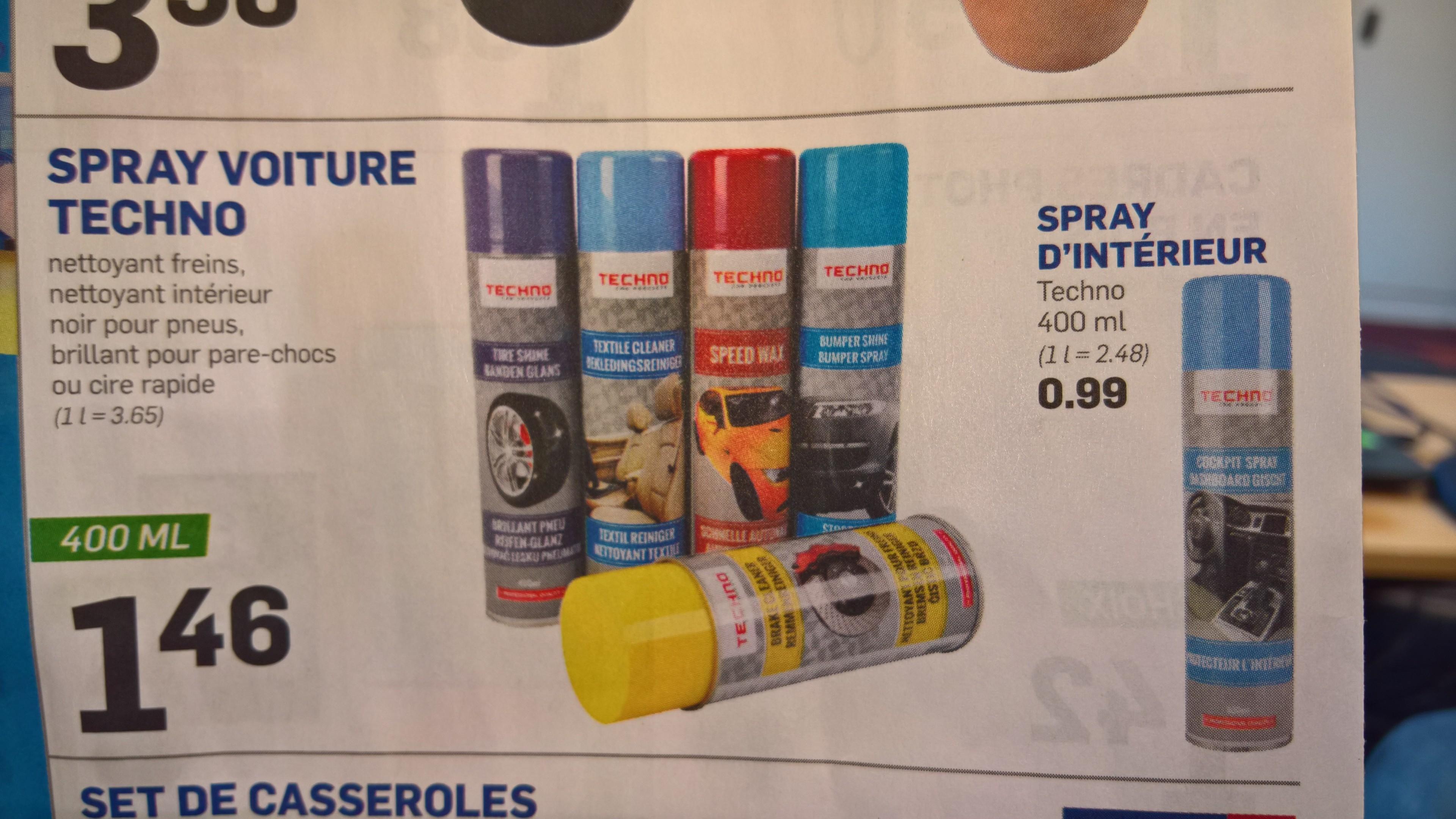 s lection de spray pour entretien voiture 400 ml ex nettoyant freins. Black Bedroom Furniture Sets. Home Design Ideas