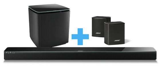 barre de son bose soundtouch 300 noir acoustimass 300 noir virtually invisible 300. Black Bedroom Furniture Sets. Home Design Ideas