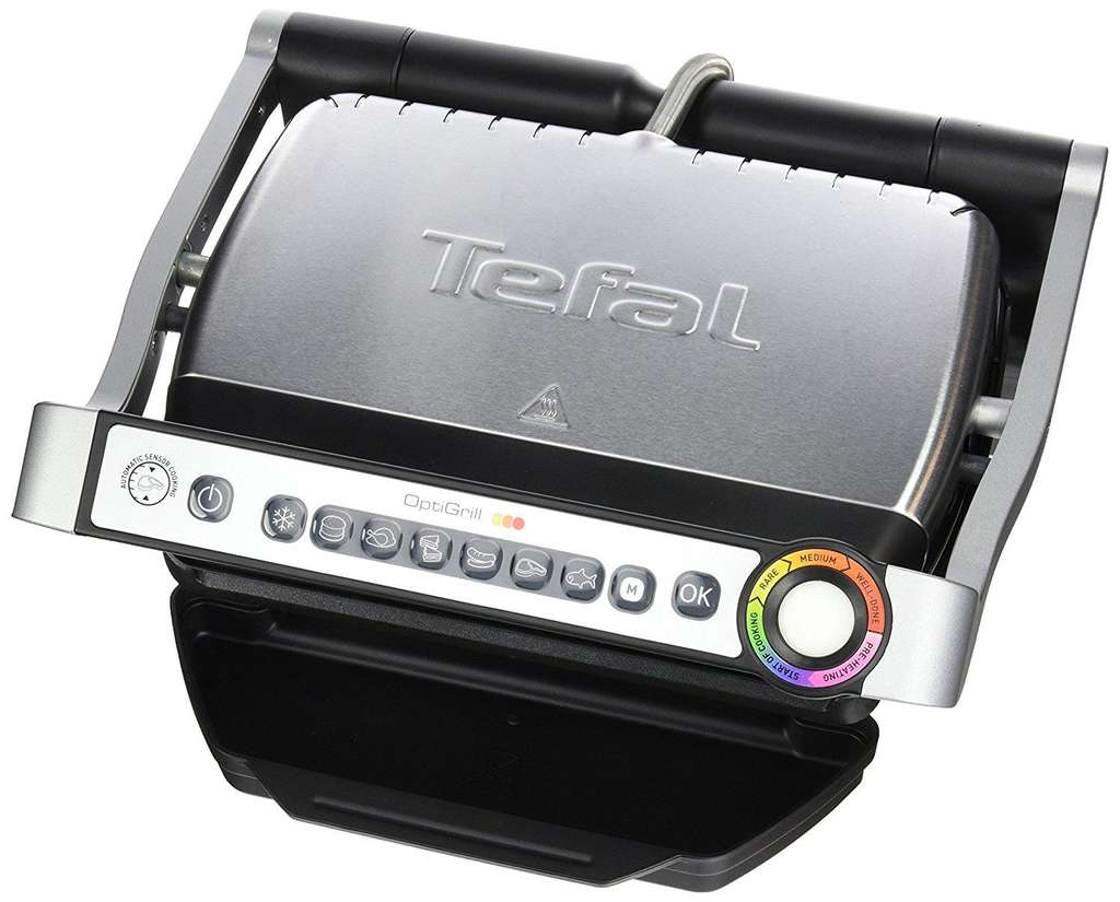 Grill lectrique tefal optigrill gc702d34 v1 - Grill electrique tefal optigrill gc702d01 ...