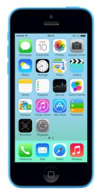 smartphone 4 0 apple iphone 5c 32 go reconditionn. Black Bedroom Furniture Sets. Home Design Ideas
