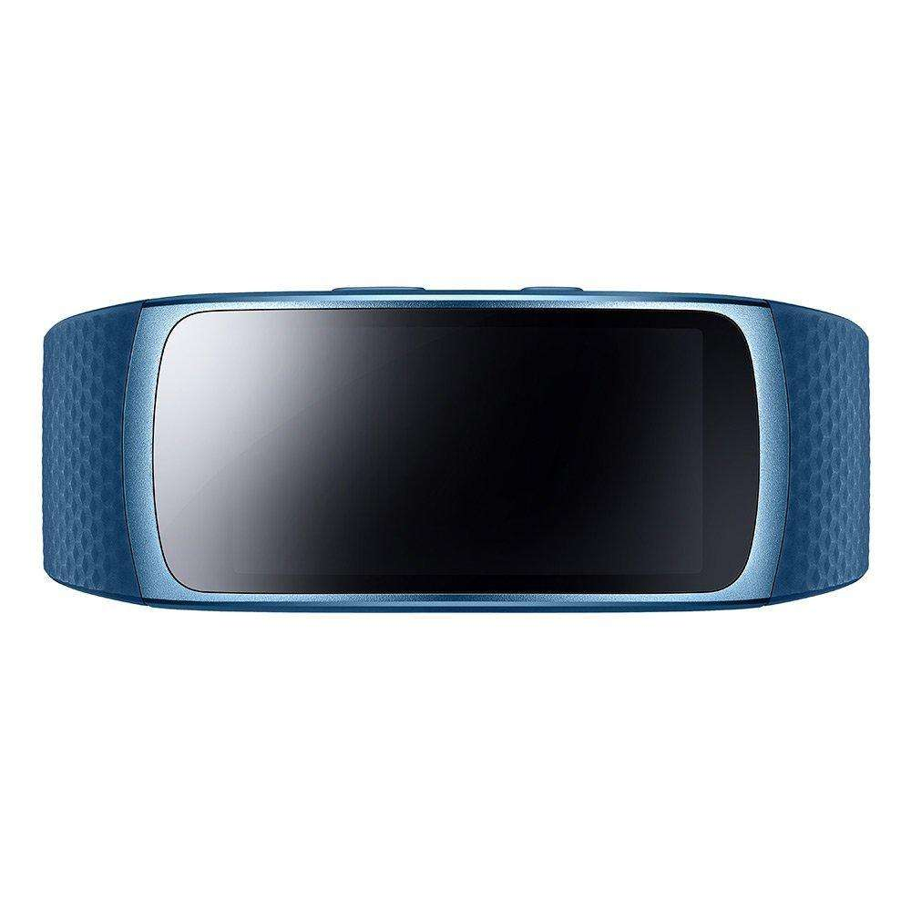 tracker d 39 activit samsung gear fit 2 taille l bleu. Black Bedroom Furniture Sets. Home Design Ideas