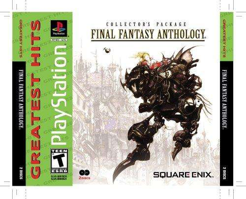 Final fantasy anthology final fantasy v vi sur ps1 - Code promo amazon frais de port gratuit ...