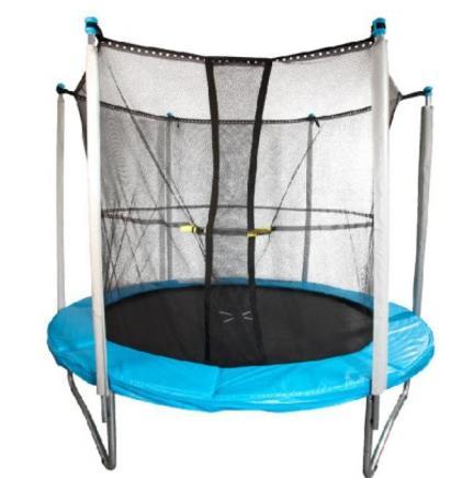 trampoline avec filet 244 cm. Black Bedroom Furniture Sets. Home Design Ideas